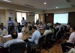 Interactive Session regarding RFI Cum RFP for Architects & Developers of SR Schemes held on 21st April 2016